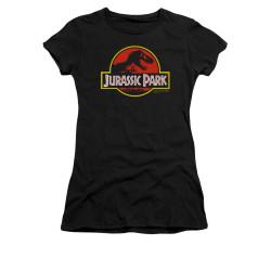 Image for Jurassic Park Girls T-Shirt - Classic Logo