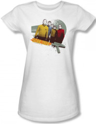 Image for Star Trek Girls T-Shirt - Strange New Worlds