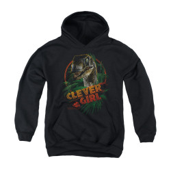 Image for Jurassic Park Youth Hoodie - Clever Girl