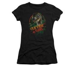 Image for Jurassic Park Girls T-Shirt - Clever Girl