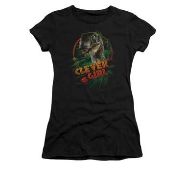 Image for Jurassic Park Girls T-Shirt - Clever Girl