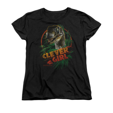 Image for Jurassic Park Woman's T-Shirt - Clever Girl
