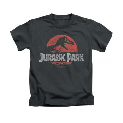 Image for Jurassic Park Kids T-Shirt - Faded Logo