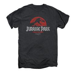 Image for Jurassic Park Premium T-Shirt - Faded Logo