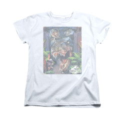 Image for Jurassic Park Woman's T-Shirt - Giant Door