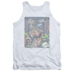 Image for Jurassic Park Tank Top - Giant Door