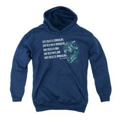 Image for Jurassic Park Youth Hoodie - God Creates Dinosaurs