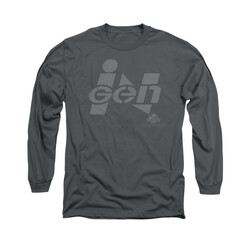 Image for Jurassic Park Long Sleeve T-Shirt - Ingen Logo