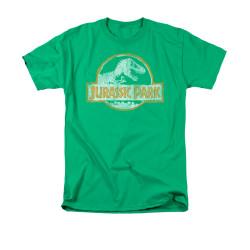 Image for Jurassic Park T-Shirt - Jurassic Park Orange