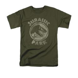 Image for Jurassic Park T-Shirt - Jurassic Park Stamp