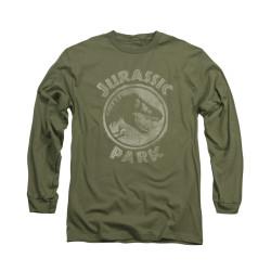 Image for Jurassic Park Long Sleeve T-Shirt - Jurassic Park Stamp