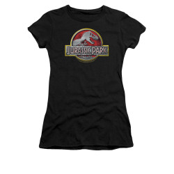 Image for Jurassic Park Girls T-Shirt - Logo