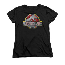 Image for Jurassic Park Woman's T-Shirt - Logo