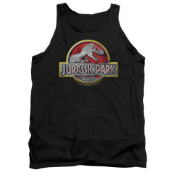 Image for Jurassic Park Tank Top - Logo