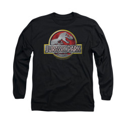 Image for Jurassic Park Long Sleeve T-Shirt - Logo