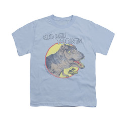 Image for Jurassic Park Youth T-Shirt - More Tourists