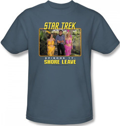 Image Closeup for Star Trek Episode T-Shirt - Episode 17 Shore Leave