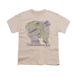 Image for Jurassic Park Youth T-Shirt - Retro Rex