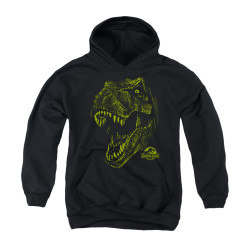 Image for Jurassic Park Youth Hoodie - Rex Mount