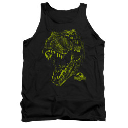Image for Jurassic Park Tank Top - Rex Mount