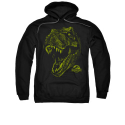 Image for Jurassic Park Hoodie - Rex Mount