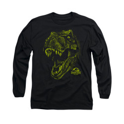 Image for Jurassic Park Long Sleeve T-Shirt - Rex Mount