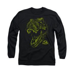 Image for Jurassic Park Long Sleeve T-Shirt - Rex Mount