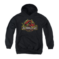 Image for Jurassic Park Youth Hoodie - Something Has Survived
