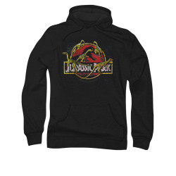 Image for Jurassic Park Hoodie - Something Has Survived