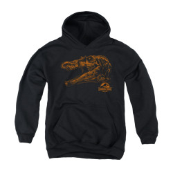 Image for Jurassic Park Youth Hoodie - Spino Mount