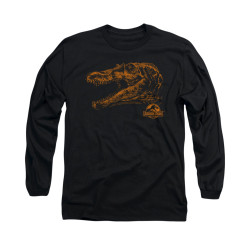 Image for Jurassic Park Long Sleeve T-Shirt - Spino Mount