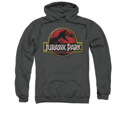 Image for Jurassic Park Hoodie - Stone Logo