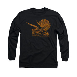 Image for Jurassic Park Long Sleeve T-Shirt - Tri Mount
