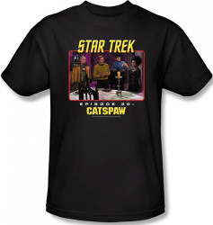 Image Closeup for Star Trek Episode T-Shirt - Episode 30 Catspaw