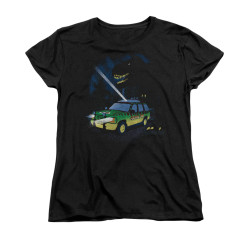 Image for Jurassic Park Woman's T-Shirt - Turn it Off