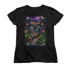Image for Jurassic Park Woman's T-Shirt - Welcome to the Park