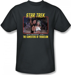 Image Closeup for Star Trek T-Shirt - The Gamesters of Triskelion