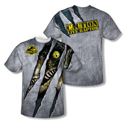 Jurassic Park Sublimated Youth T-Shirt - Live Raptor