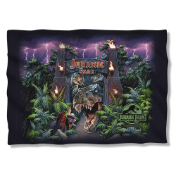 Image for Jurassic Park Pillow Case - Welcome to the Park