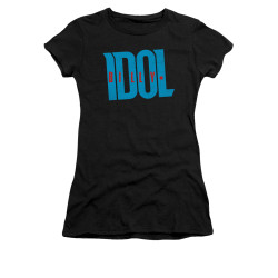 Image for Billy Idol Girls T-Shirt - Logo