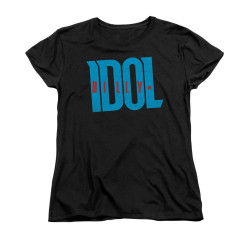 Image for Billy Idol Woman's T-Shirt - Logo
