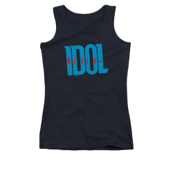 Image for Billy Idol Girls Tank Top - Logos