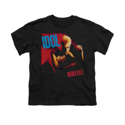 Image for Billy Idol Youth T-Shirt - Rebel Yell