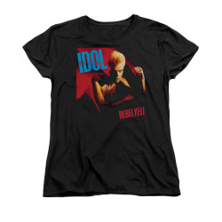 Image for Billy Idol Woman's T-Shirt - Rebel Yell