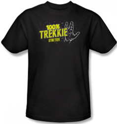 Image Closeup for Star Trek T-Shirt - 100% Trekkie