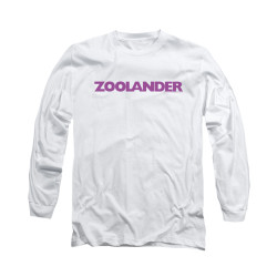 Image for Zoolander Long Sleeve T-Shirt - Logo