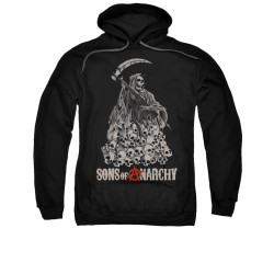 Image for Sons of Anarchy Hoodie - Pile of Skulls