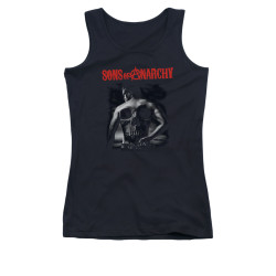 Image for Sons of Anarchy Girls Tank Top - Skull Back