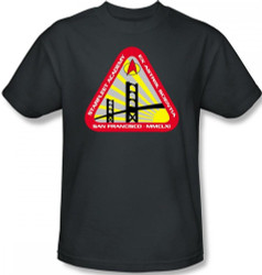 Image Closeup for Star Trek T-Shirt - Starfleet Academy