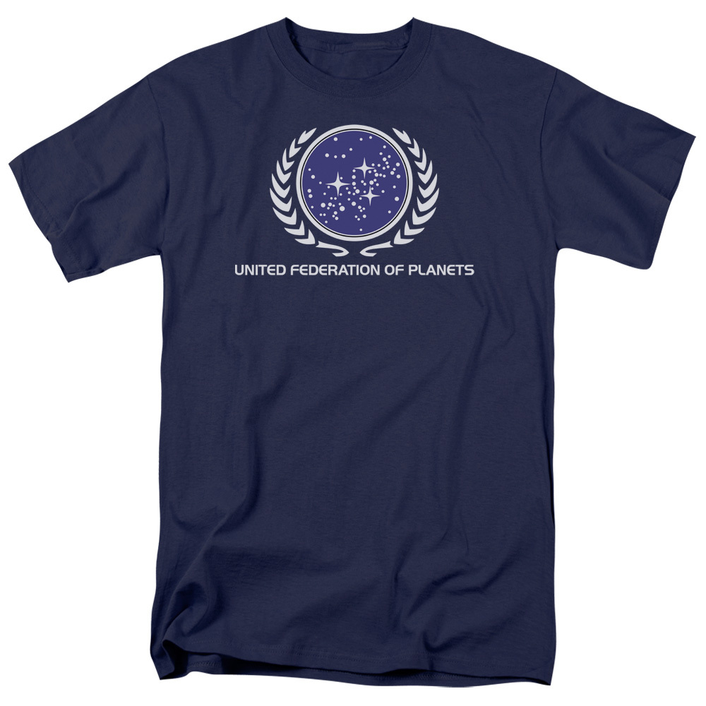 398d0e21 Star Trek T-Shirt - United Federation of Planets - NerdKungFu